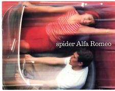 Alfa Romeo Giulia Spider & 2600 Spider 1964-65 UK Market Sales Brochure