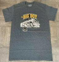 Union Pacific Big Boy 4014 Gray Authentic Railroad T-Shirt NEW NIP Adult M S