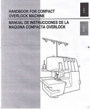 Brother 3034D Serger Overlock Owners Users Guide Instruction Manual Book