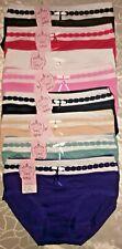 5 Damen Slips Unterhosen Softtouch Baumwolle  Gr.38 40 42 44 46 48 50