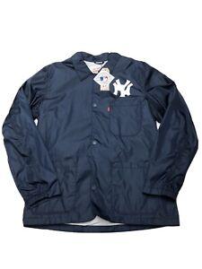 NWTS Levi x New York Yankees Coaches Jacket Size Medium MLB Baseball