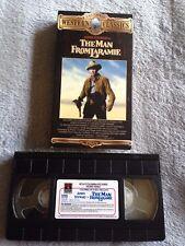 The Man from Laramie (1955) - VHS Tape - Western - James Stewart -Arthur Kennedy