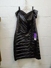 Jjs House Black Dress Size 16W Bust: 43 in. Waist: 36.25 in.