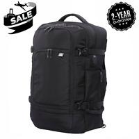 "Aerolite 55x35x20cm Ryanair 39L Hand Cabin Luggage 15"" Laptop Flight Bag Black"