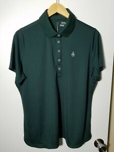 1 NWT NIKE GOLF WOMEN'S POLO, SIZE: 2X-LARGE, COLOR: DARK GREEN (J178)