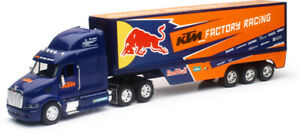 NEW RAY TOYS KTM Red Bull Race Truck 1:32 Replica Semi Die Cast Model 14393