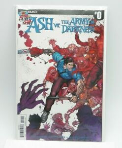ASH VS THE ARMY OF DARKNESS #0 Dynamite NM Free Shipping