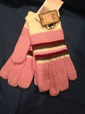 Juicy Couture Girls Club Pink Winter Gloves