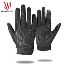 Full Finger Cycling Gloves Touch Screen MTB Bike Bicycle Glove Breathable Spring