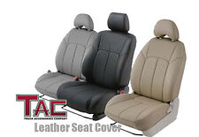 2007-2011 Custom Fit TOYOTA CAMRY CE / LE / Hybrid - TAN - Leather Seat Covers