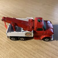 V.Rare Matchbox Lesney 1-75 No71 Ford Heavy Wreck Truck Amber Glass and Beacon