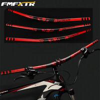 FMFXTR MTB/DH/XC Bike Handlebar 31.8*780mm Aluminum Riser Bar  18mm 10Degree