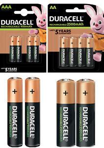 Duracell Ultra Power Akkus Accus AAA Micro 900mAh AA Mignon 2500mAh * aus 2021 *