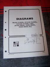 0P Manual HYSTER Electrical Diagrams H165-280XL H300-360XL H330-360XL-EC XL