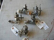 4 ROGERS .29 IGNITION ENGINES & ONE BUZZ IGNITION ENGINE