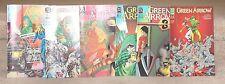 GREEN ARROW  (1988)  Lot 7 thru 12    DC Comics   for Mature Readers  Very Good