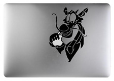 Mulan Mushu decal sticker Black art for Apple Macbook 13, 15, 17 inch Air 11 13