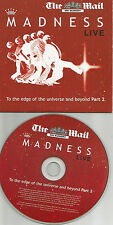 MADNESS BEST of RARE LIVE TRX LIMITED Europe NEWSPAPER PROMO CD USA seller 2006