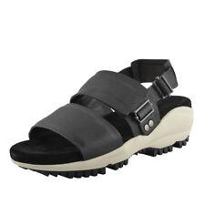 Lanvin Men's Black Suede Leather Sandals Shoes US 13 IT 12 EU 46