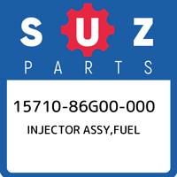 15710-86G00-000 Suzuki Injector assy,fuel 1571086G00000, New Genuine OEM Part