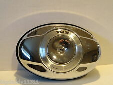 Harley Davidson Football AIr Cleaner/Back Plate/Filter CHROME 103 COMPLETE