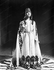 8x10 Original Negative Leonora Ruffo Queen of Sheba 1952 #10100274