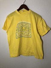New listing Vintage 80s Pacman T Shirt Yellow Singlestitch Sz S Rare