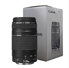 Canon Ef 75-300mm f/4-5.6 Iii Autofocus Lens for Eos T6 T6s T6i T5 T5i , Usa