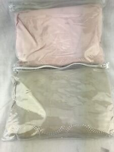 Comphy Crib Fitted Sheet Spa Quality Infant Baby Bedding ULTRA SOFT Pink Biege