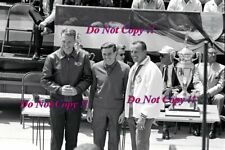 Jim Clark & Dan Gurney & A.J. Foyt Portrait Indianapolis 500 1965 Photograph