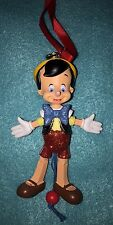 Disney Parks Pinocchio Articulated Figural 3D Holiday Ornament NWT