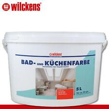Wilckens 5 l Bad- und Küchenfarbe Feuchtraum Garage Keller Schimmelschutz