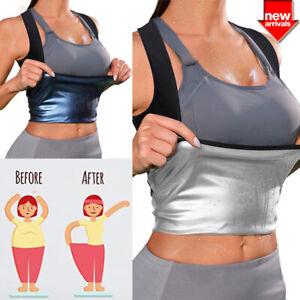 Sauna Sweat Vest for Women Suit Tank Top Waist Trainer Vest Slimming Body Shaper