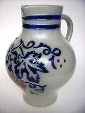 Keramik Krug Kanne 1,5L Merkelbach Goebel Westerwald pottery Germany vintage