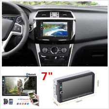 """2 Din 7"""" HD Car Stereo MP5 Player Bluetooth Audio FM Radio with Reversing Camera"""