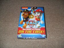 Paw Patrol: Marshall And Chase On the Case! Dvd - New & Sealed