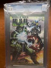 World War Hulk #1 CGC 9.4 NM/MT High Grade John Romita Jr 1:25 Variant Cover