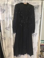 Vintage Victorian Style Sheer Dress Size 8-10 Handmade