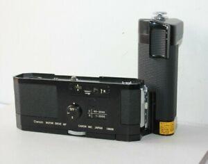 Canon Motor Drive MF For F-1 Film SLR Camera.