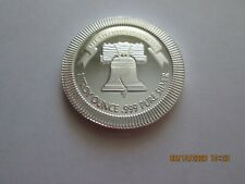 1 oz Silvertowne Liberty Bell Stackable Silver Round, BU Cond.