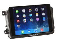 Padbay 1/2-DIN Mercedes Benz  Radioblende ACV iPad Rahmen Ipad Halter+ablagefach