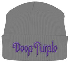 Deep Purple 'Logo Grey' Beanie - NEW & OFFICIAL!