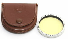 Rollei Filter Bay III light yellow with case