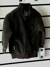 Boys Kids Zipped Long Sleeve Bench Jacket Top