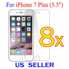 """8x Clear Screen Protector Guard Cover Film Shield For Apple iPhone 7 Plus 5.5"""""""