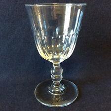 Baccarat H 15cm verre à eau cristal taillé côtes plates XIXe Louis-Philippe