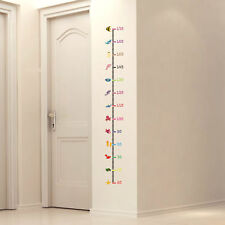 Creative Animals Wall Sticker Kids Baby Height Chart Measurement Removable Decal