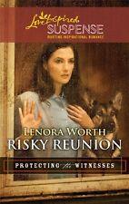 Risky Reunion (Love Inspired Suspense) by Lenora Worth
