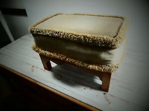 Vintage Foot Stool  16 x 10 Inches