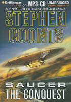 Steven Coonts Saucer The Conquest MP3 CD Audio Book Unabridged FASTPOST
